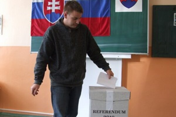 Mladý volič.