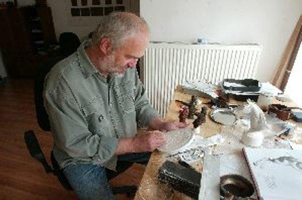 Medailér Drahomír Zobek sa zameral  na dve atraktívne historické témy.