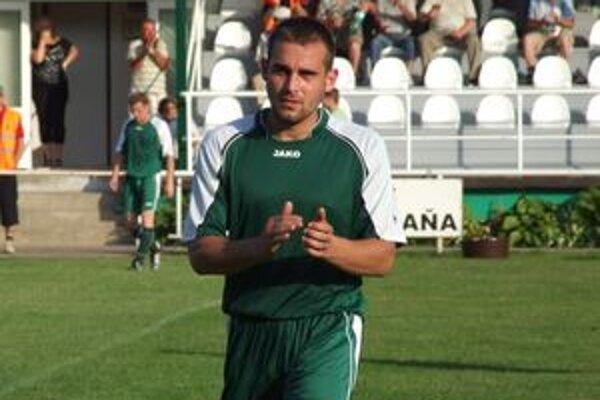 Michal Páleník, strelec dvoch gólov do brány Námestova.