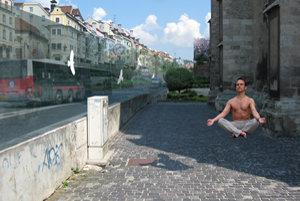 Meditácia pri Dóme sv. Martina je dnes možná len na vizualizácii.