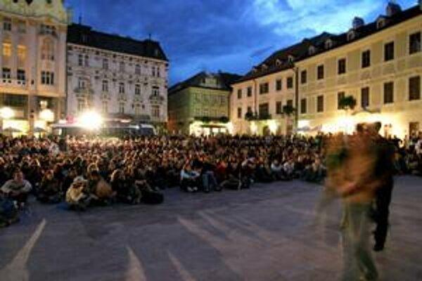 Úspešné české a slovenské filmy v rámci tohtoročného podujatia Bažant kinematograf videl rekordný počet divákov - takmer 50 000.