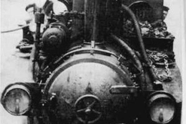 Lokomotíva ČKD z roku 1931.