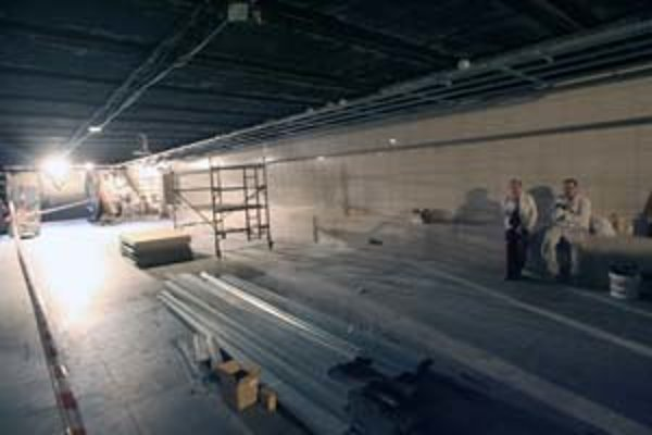 Z vyše tridsaťročného podchodu má po rekonštrukcii zostať pôvodná len podlaha.