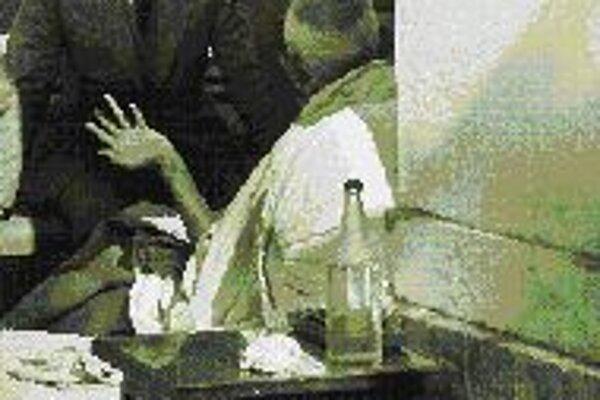 Gándhí deň pre jeho zavraždením© Henri Cartier-Bresson/Magnum Photos