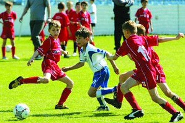 Malých futbalistov čakajú ďalšie zápasy Nike Premier Cupu.