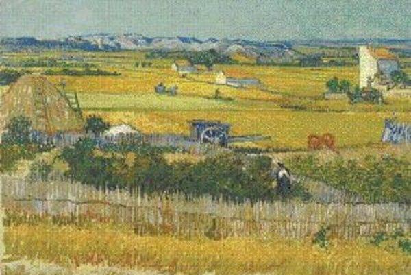 Vincent van Gogh: Úroda, 1888.© Amsterdam, Van Goghovo múzeum - Vincent van Gogh Foundation