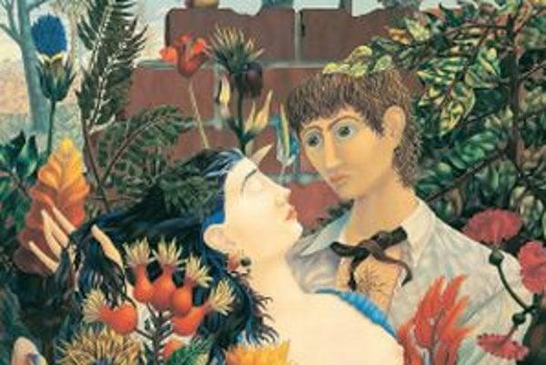 Wolfgang Hutter: Adam a Eva, 1955.