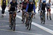 Európsky týždeň mobility má upozorniť na alternatívne druhy dopravy. Minulý rok mesto organizovalo jazdu cyklistov a korčuliarov.