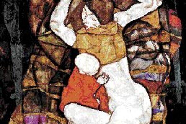 Egon Schiele: Mladá matka, 1914.