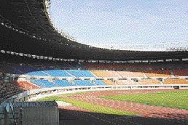 Viedenský štadión Ernsta Happela. © Foto - Jacqueline Kacetlová