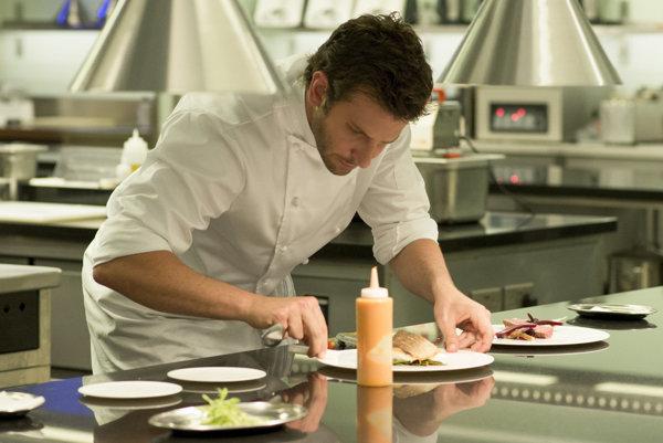 Bradley Cooper si zahral kuchára - perfekcionistu.