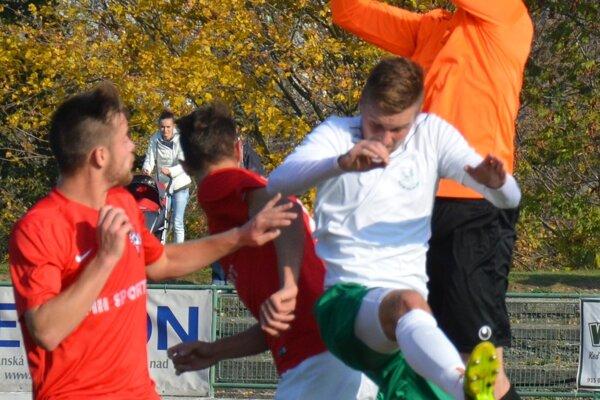 Brankár Belic z Nového Mesta gól nedostal.