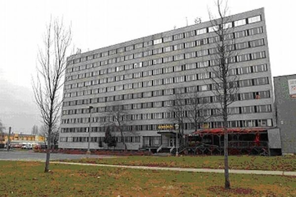 Budova na Zelenečskej.
