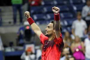 Svojrázny taliansky tenista má v posledných týždňoch veľmi dobrú formu.