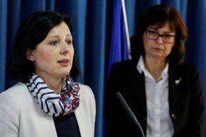 Eurokomisárka Jourová chce pomôcť Ravaszovi