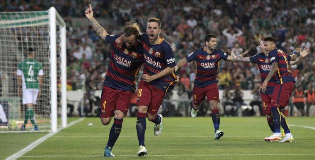 Barcelona sa presadila až v druhom polčase.