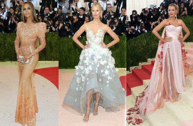 Beyoncé, Karolina Kurkova, Blake Livelyová