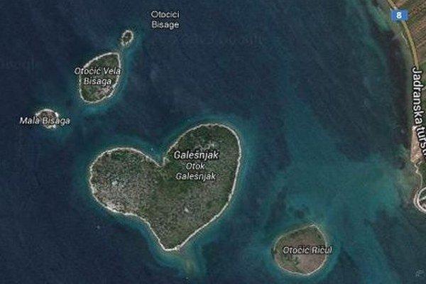 Satelitná snímka z Google Earth.