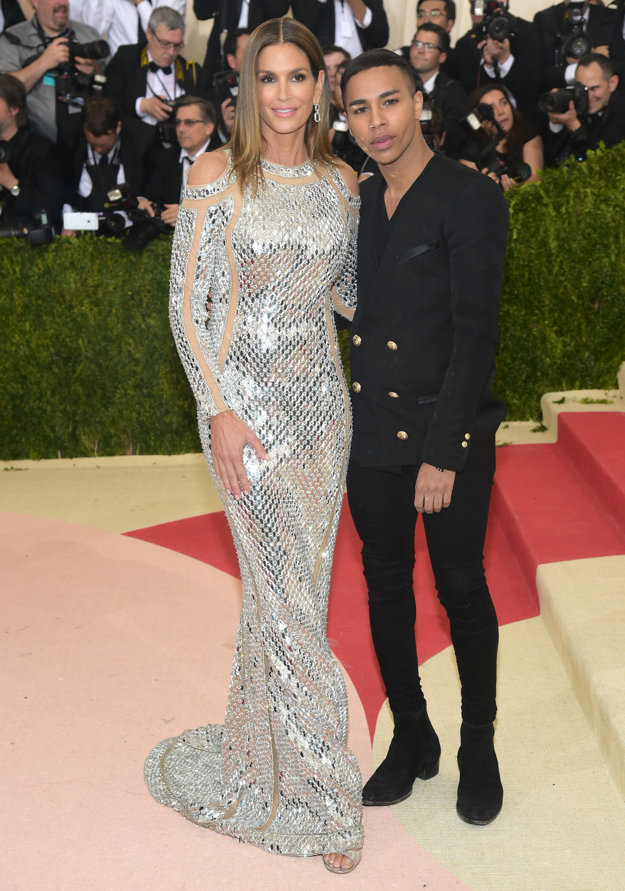 Cindy Crawford a Olivier Rousteing
