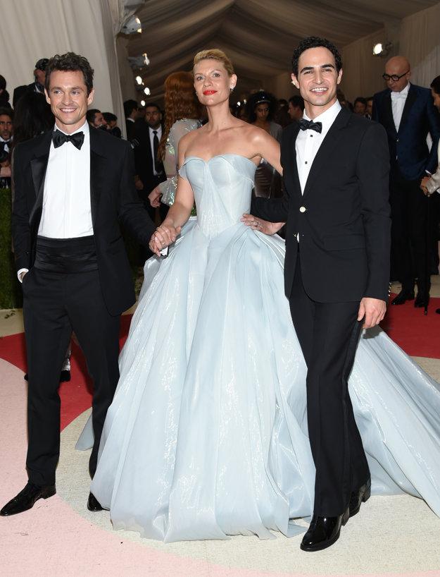 Hugh Dancy, Claire Danesová a Zac Posen