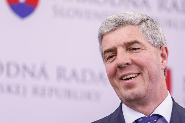 Na snímke podpredseda Národnej rady SR Béla Bugár.