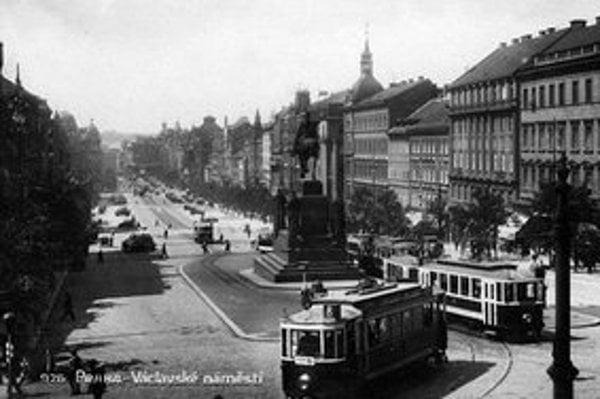 Električky prechádzali cez Václavské námestie naposledy v 80. rokoch 20. storočia.