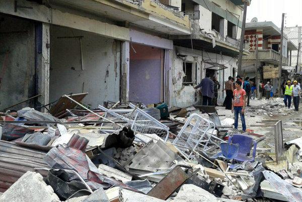 Štvrtkový útok v provincii Homs.