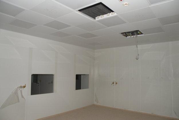 Operačné sály v bojnickej nemocnici dlhé roky čakajú na dobudovanie.