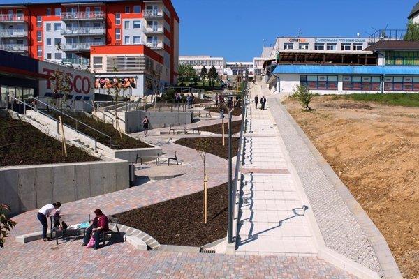Slnečné schody na Hájiku.