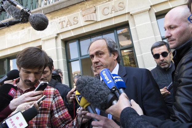 Legendárny francúzsky futbalista odchádzal z arbitrážneho súdu sklamaný.