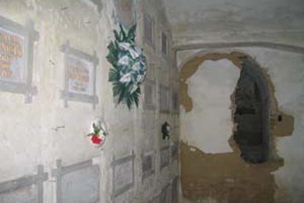 Vincentky odpočívajú v katakombách.