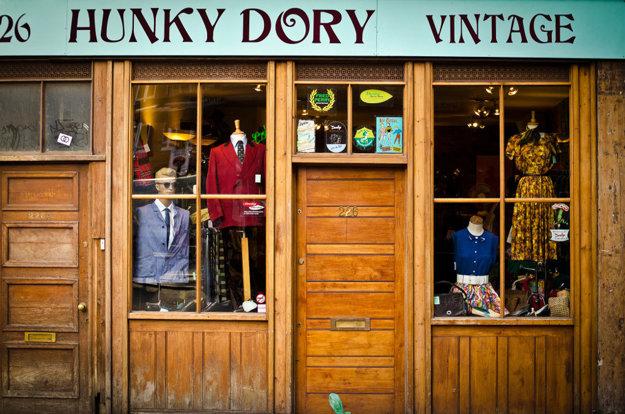 Vintage obchod Hunky Dory