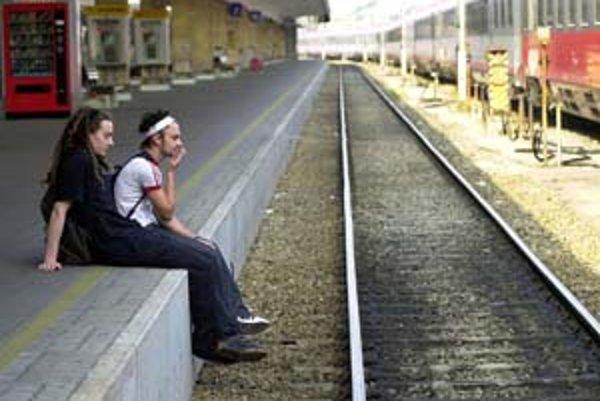Meškanie vlaku môže byť niekedy príjemné.
