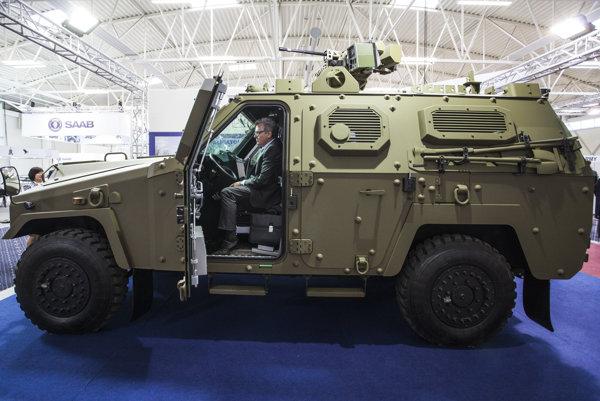 Nová verzia obrneného vozidla Aligátor.