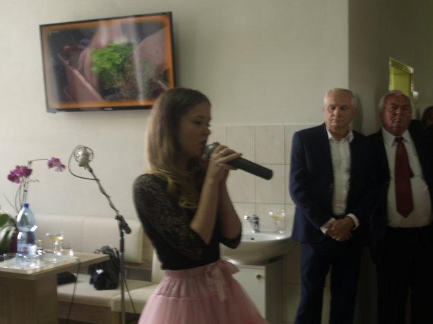 V programe sa predstavila speváčka Dianka Demecsová