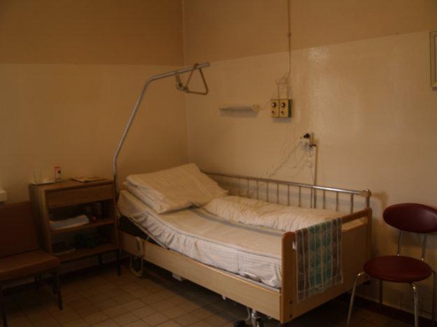 Izby neposkytujú pacientom potrebný komfort