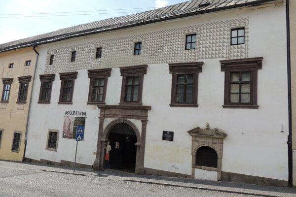 Budova Slovenského banského múzea v Banskej Štiavnici.