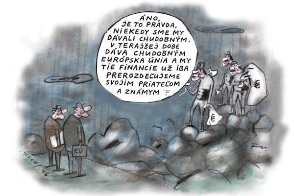 Ako zbojníci prerozdeľujú eurofondy (Vico)