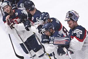 Hokejisti Slovenska prehrali na majstrovstvách sveta v Rusku už štvrtý zápas za sebou.