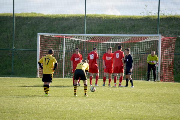 Zápas v Kočovciach víťaza nemal.