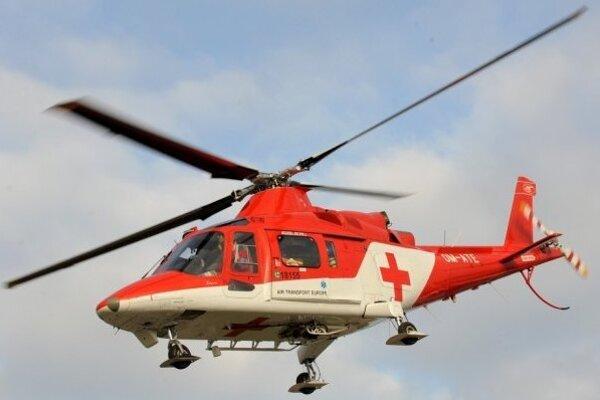 Helikoptéra zasahovala v Dolnom Srní.
