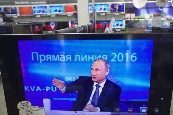 Vladimir Putin a jeho priama línia.