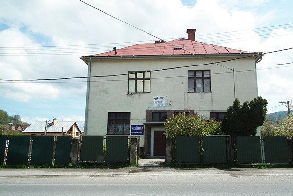 Starý obecný úrad v Nižnej.