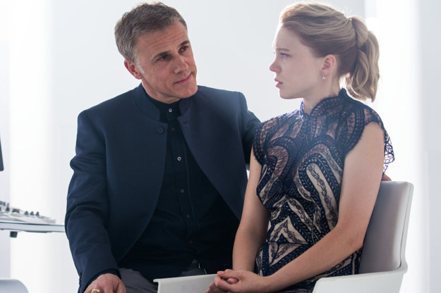 Christoph Walrtz a Léa Seydoux v úlohách dobra a zla.