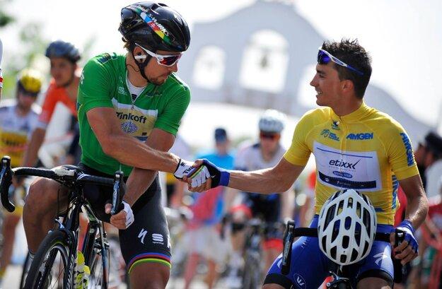 Sagan si naďalej udržal v Kalifornii zelené tričko.