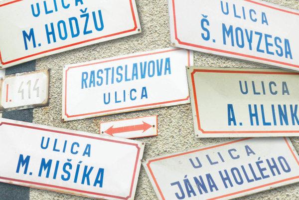 Ulice v Prievidzi sú pomenované aj po osobnostiach.