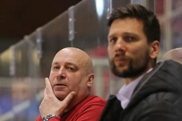 Miroslav Chudý (vľavo) už mužstvo nepovedie.