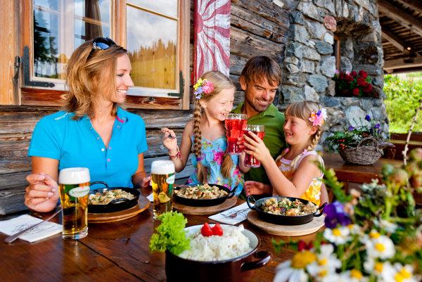 V Rakúsku si možno dobré jedlo vychutnať v príjemnom prírodnom prostredí.