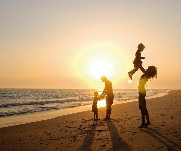Na dovolenke s deťmi myslite na ich pohodu a zábavu.