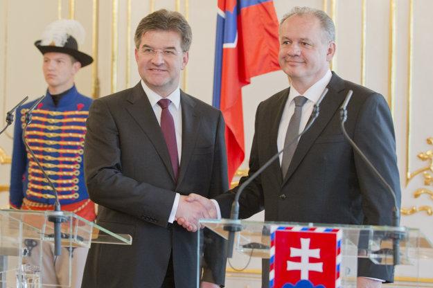 Lajčáka podporil aj prezident Kiska.